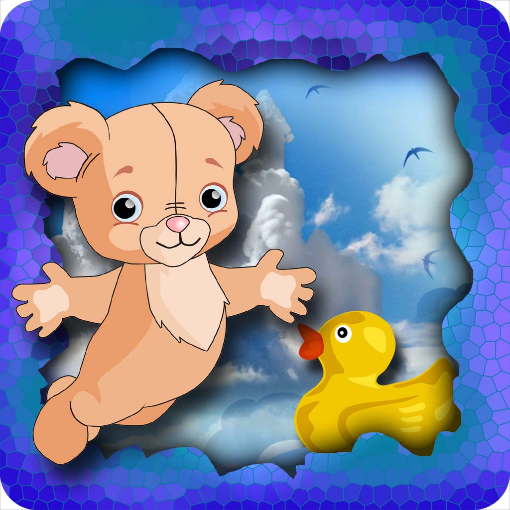 Cuddly Bear Flying Adventure